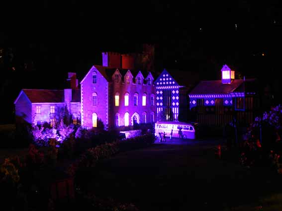 Night Time at the Model Village