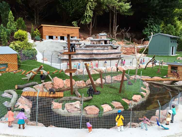 Mini Paignton Zoo at Babbacombe Model Village