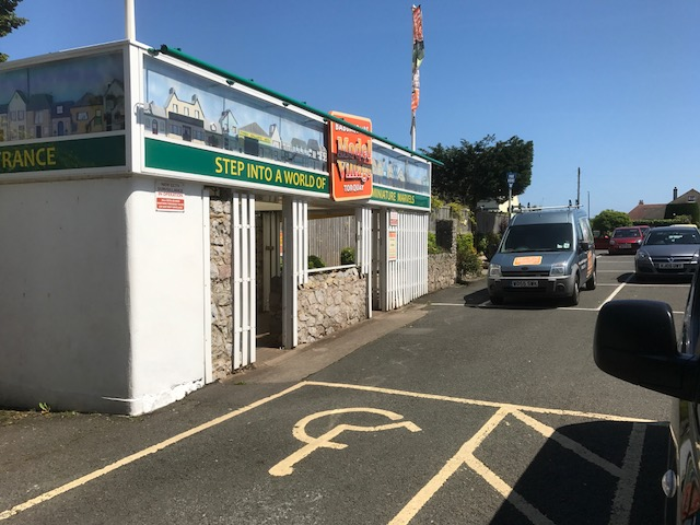 Car Park (local Authority Pay & Display) and our entrance